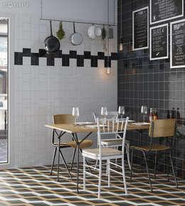 Comedores de estilo mediterraneo por Equipe Ceramicas