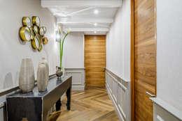 HCH: Pasillos y recibidores de estilo  por NIVEL TRES ARQUITECTURA