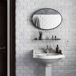 Baños de estilo clásico por Equipe Ceramicas