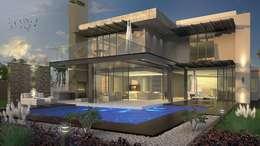 Casas de estilo moderno por House of Gargoyle