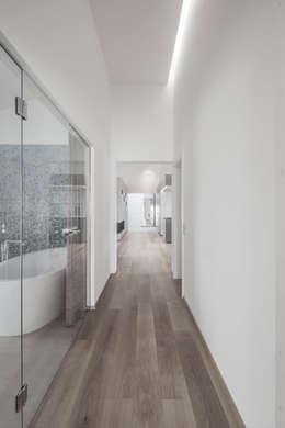 modern Bathroom by destilat Design Studio GmbH