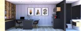 Projekty,   zaprojektowane przez Casa Container Marilia - Arquitetura em Container