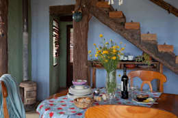 Comedores de estilo rústico por Susana Bellotti Arquitectos