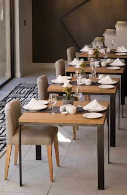 Dining:  Hotels by www.mezzanineinteriors.co.za