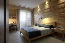 境靜:  臥室 by 大言室內裝修有限公司