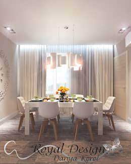 minimalistic Dining room by Your royal design