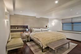 Laight Street Duplex: modern Bedroom by Rodriguez Studio Architecture PC