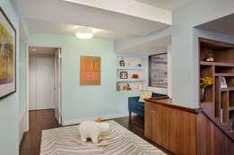 Laight Street Duplex: modern Nursery/kid's room by Rodriguez Studio Architecture PC