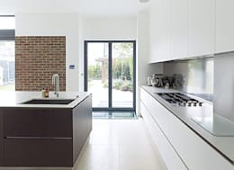 Gallery House on Richmond Park: modern Kitchen by Elemental Architecture