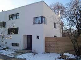 modern Houses by architekturbüro holger pfaus