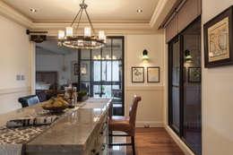 غرفة السفرة تنفيذ 大晴設計有限公司