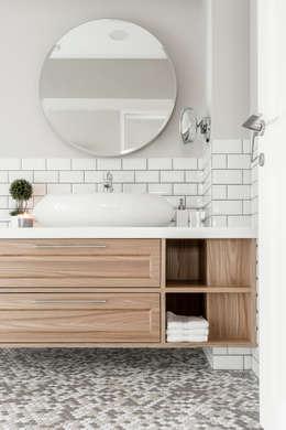 scandinavian Bathroom by 潤澤明亮設計事務所
