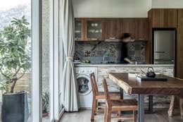 Projekty,  Kuchnia zaprojektowane przez 潤澤明亮設計事務所