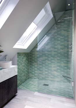 Bathroom CGI Visualisation #5: industrial Bathroom by White Crow Studios Ltd