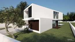 de estilo  por Fábrica Das Casas