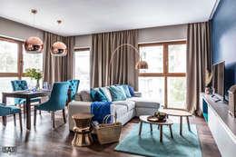 modern Living room by SAS