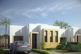 Casa Zuaran: Casas de estilo moderno por Gestec