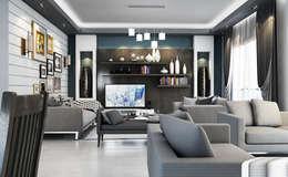 modern Living room by Boly Designs