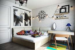 غرفة نوم تنفيذ Дизайн Мира