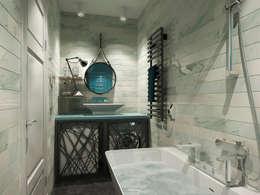 حمام تنفيذ Дизайн Мира