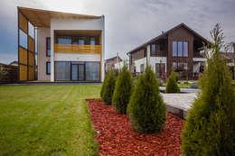 minimalistische Huizen door Мастерская Grynevich Dmitriy