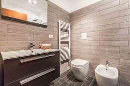 9 bagni piccoli e semplici da copiare subito for Quanto costruire una casa in stile artigiano