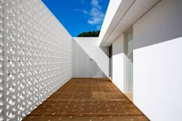 FIRTH 114802 by Three14 Architects:  Patios by Three14 Architects