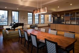 Empire State Loft, Koko Architecture + Design: modern Dining room by Koko Architecture + Design
