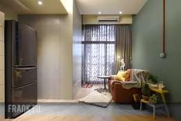 modern Living room by 中孚 設計 / FRANKFU INERIOR DESIGN