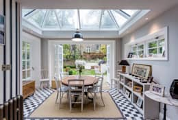 classic Dining room by GK Architects Ltd