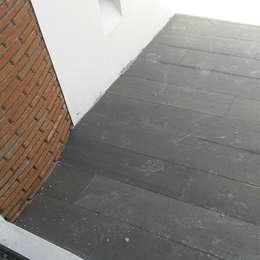 Construcción de Terraza: Terrazas de estilo  por casas eco constructora