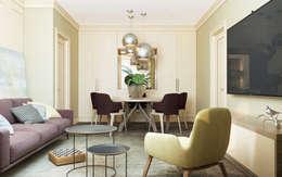 Projekty,  Salon zaprojektowane przez Zikzak Design Studio