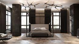 industriële Slaapkamer door Zikzak Design Studio