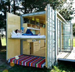 modern Houses by Casa Container Brasil