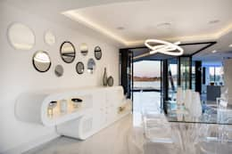 modern Dining room by FRANCOIS MARAIS ARCHITECTS