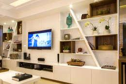 classic Living room تنفيذ Cris Nunes Arquiteta