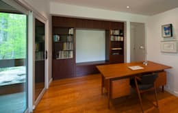 modern Study/office by Solares Architecture