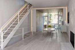 Passive in Park Slope: modern Dining room by Sarah Jefferys Design