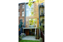 Passive in Park Slope: modern Houses by Sarah Jefferys Design