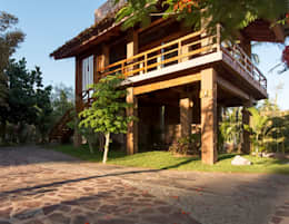 rustic Houses by Cervantesbueno arquitectos
