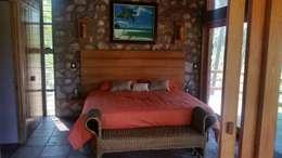 ห้องนอน by Cervantesbueno arquitectos