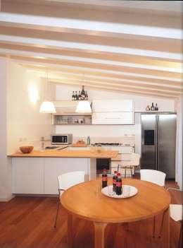 Cozinhas minimalistas por Fabio Carria