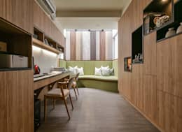 Projekty,  Domowe biuro i gabinet zaprojektowane przez 皇室空間室內設計