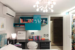 Cuartos de estilo  por Nogueira Arquitetura e Interiores