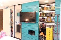 eclectic Bedroom by Nogueira Arquitetura e Interiores