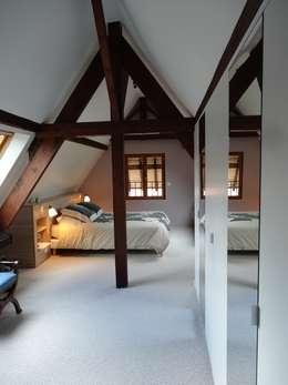 Après : nouvelle chambre parentale: Chambre de style de style Moderne par (pH)²