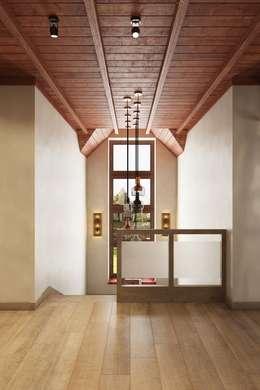 Три типа освещения в дизайне интерьеров: Коридор и прихожая в . Автор – Дизайн студия Алёны Чекалиной