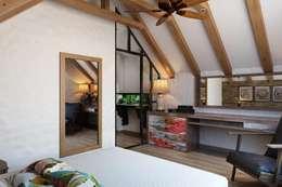 Особенность дизайна интерьера: Спальни в . Автор – Дизайн студия Алёны Чекалиной