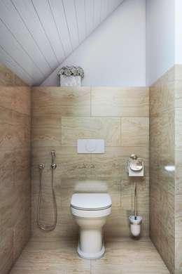 В уголке: Ванные комнаты в . Автор – Дизайн студия Алёны Чекалиной