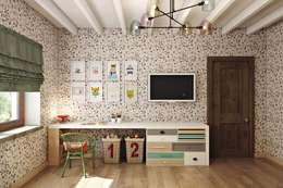 landhausstil Kinderzimmer von Дизайн студия Алёны Чекалиной